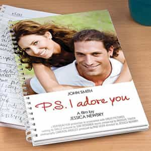Personalized Notebook PS I Adore You| Dottedi