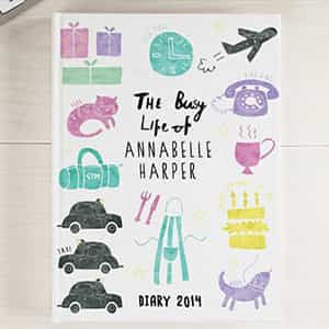 Personalized Notebook The Busy Life| Dottedi