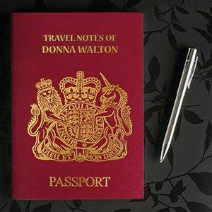 Personalized passport book| Dottedi