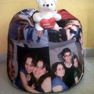 Personalized Photo Bean Bag| Dottedi
