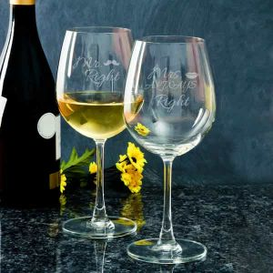 Personalized Wine Glasses| Dottedi