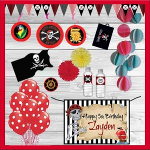 Pirate Themed Party In A Box| Dottedi