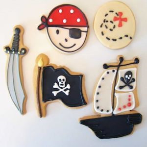 Pirate Theme Cookies| Dottedi
