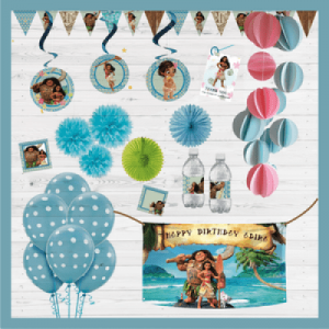 Moana Themed Party In A Box| Dottedi