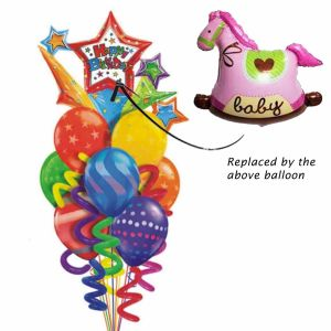 Rocking Horse balloon bouquet| Dottedi
