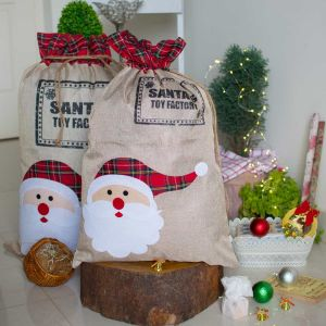 Santa sack- medium| Dottedi