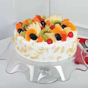 Seasonal Fresh Fruit Cake | Dottedi