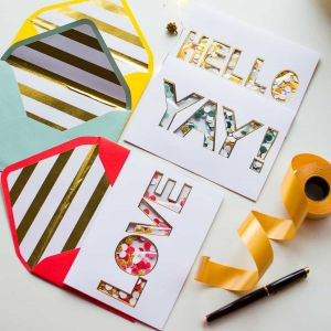 Greeting Cards - Typography| Dottedi