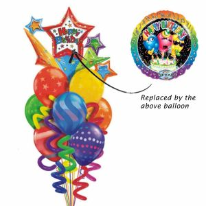 Singing Happy Birthday :Suprano Balloon bouquet| Dottedi
