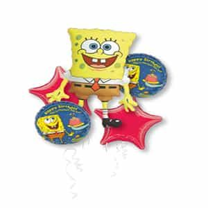 Sponge Bob set Balloon bouquet| Dottedi