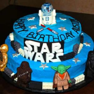 Star Wars Tiered Cake | Dottedi