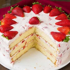 Strawberry Cake | Dottedi