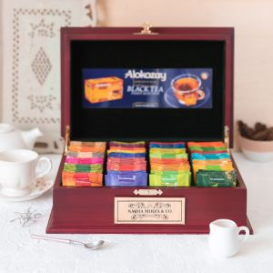 Personalized Tea Chest