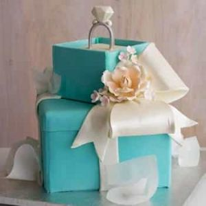 Tiffany Tiered Cake | Dottedi