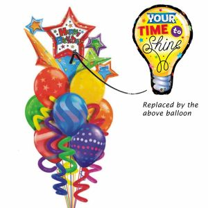 Your time to shine balloon bouquet| Dottedi