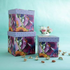 Water color floral box| Dottedi