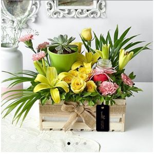 Country Garden Gift Crate