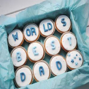 World's Best Dad Cupcakes| Dottedi