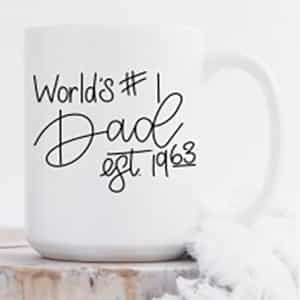 worlds #1 father mug | Dottedi