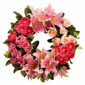Wreath colorful| Dottedi