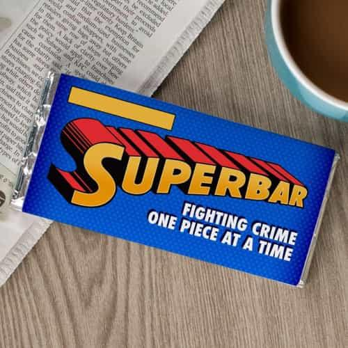 Superman Chocolate Wrapper