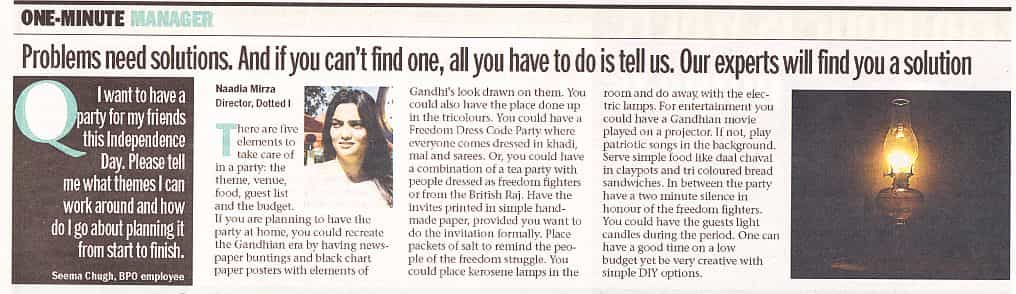 Bangalore Mirror 7 Jan 2014