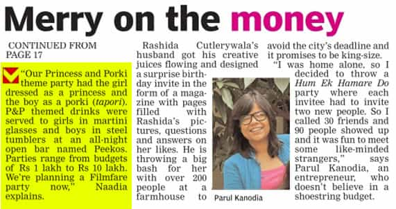 Big Budge Party Story 1 _ Deccan Chronicle _ 15 Jan 2015